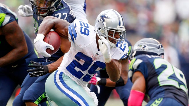 DeMarco Murray and the Cowboys have won five in a row since a season-opening loss.