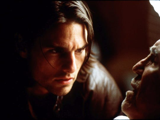 "Tom Cruise and Jason Robards star in 1999's ""Magnolia,"""