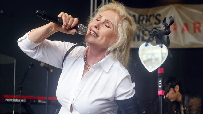 Debbie Harry with Blondie performs at Rachael Ray's Feedback Party during the SXSW Music Festival, March 15, 2014, in Austin, Texas.