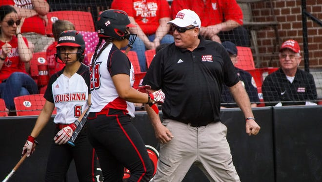 Coach Gerry Glasco's UL softball team visits Georgia State for a three-game Sun Belt series in Atlanta this weekend, starting with a Saturday doubleheader.