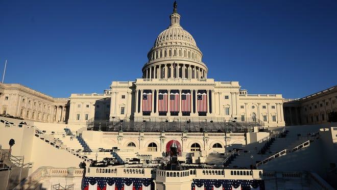 The U.S. Capitol Building in Washington, DC.