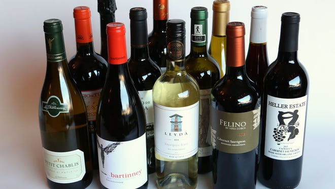 The mixed case for winter 2016, chosen by Best Wine Purveyors in Pleasantville.