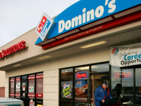 AP Earns Dominos Pizza