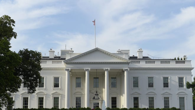 A view of the White House in Washington, Thursday, May 18, 2017.