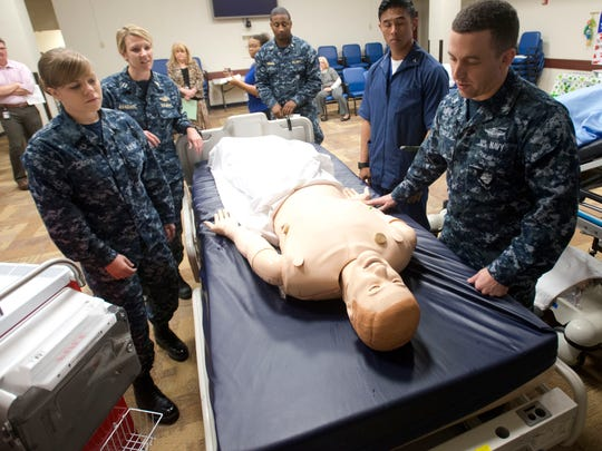 Navy Hospital-Patient Safety Week