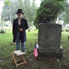Re-enactors will be part of the cemetery walk on Sunday at Briggs/Union Cemetery in Livonia.