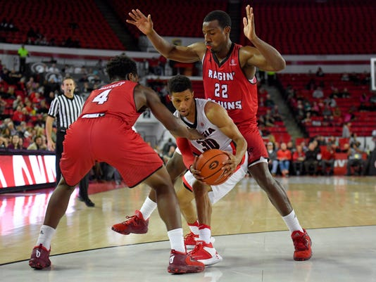 NCAA Basketball: Louisiana-Lafayette at Georgia