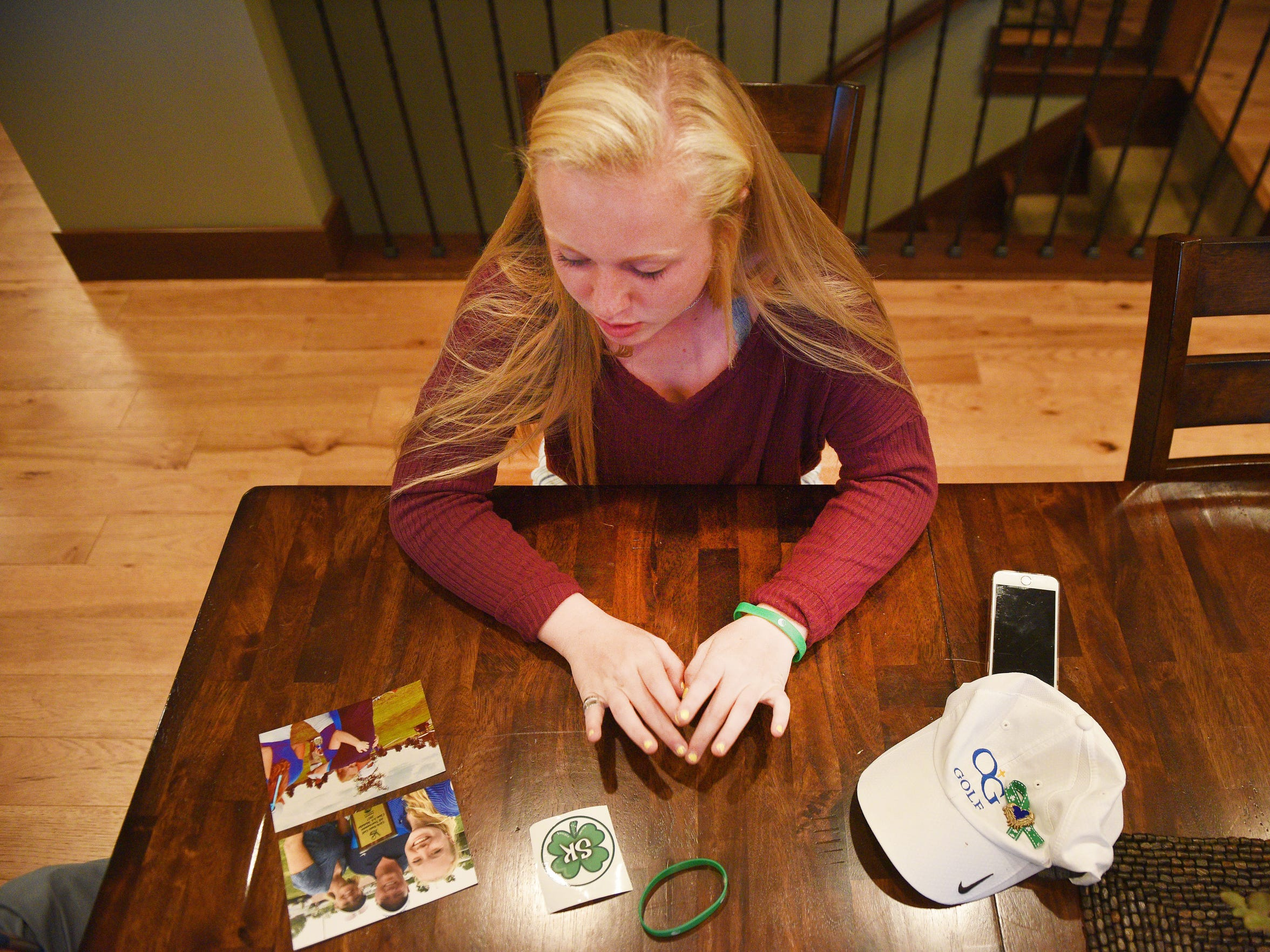 O'Gorman sophomore Carly Kunkel shares memories about