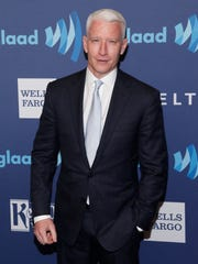 Anderson Cooper attends the 26th Annual GLAAD Media