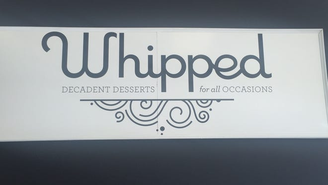 Whipped Bakery is open at 216 S. Washington Square.