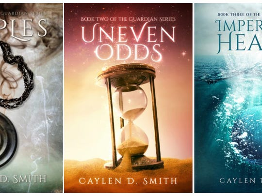 Caylen D. Smith's book series so far.