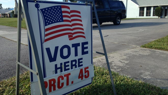Port St. Lucie's Precinct 45 at the Living Lord Congregation.