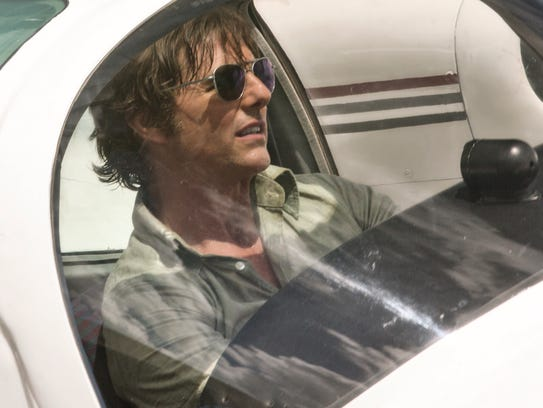 Tom Cruise plays a pilot recruited to take part in