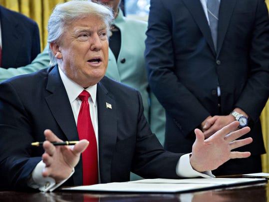 EPA USA TRUMP EXECUTIVE ORDER SMALL BUSINESS POL GOVERNMENT USA DC