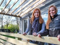 """Mina Starsiak, her mother and Karen E. Laine are the stars of the HGTV show, """"Two Chicks and a Hammer."""""""