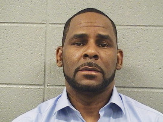 In this Wednesday, March 6, 2019 booking photo released by the Cook County Sheriff's Office is R. Kelly.