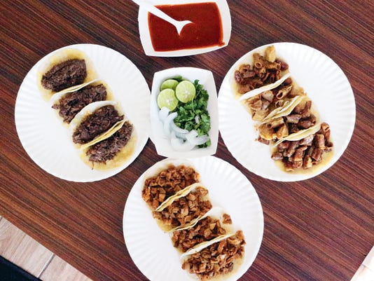 Tacos are the highlight at Tacos Don Cuco at 115 S. Americas. Some of the favorites are barbacoa, pork and tripitas. The unique salsa bar offers a variety of toppings to load into the tacos.