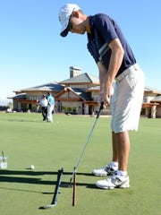 Grant Booth was the first Wolf Pack golfer to reach