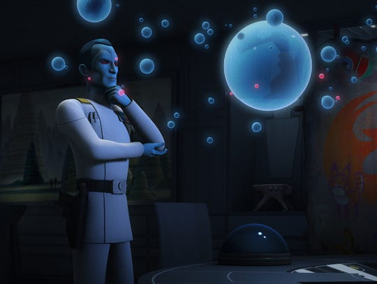 Thrawn (voiced by Lars Mikkelsen) has emerged as the