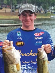Buckeye's Colby Simmons captured Big Bass honors at