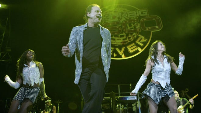 Harry Wayne Casey of KC and the Sunshine Band performs at a recent concert.