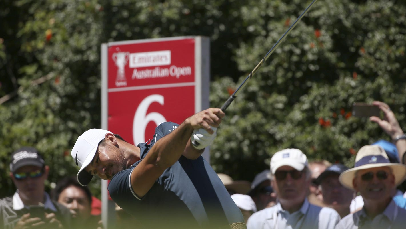 Friday's golf: Day takes 3rd-round lead