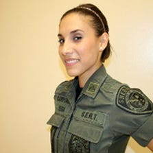 A female detention officer at the Bexar County jail was arrested Wednesday night for driving while intoxicated. The 27-year-old officer has been identified as sergeant Stephanie Vega. District clerk records indicate Vega is still in custody at the Bexar County Central Magistrate's Office.