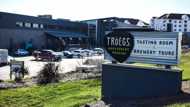 Troegs Independent Brewing at 200 Hersheypark Drive in Hershey plans to expand. The brewery is pictured here on Tuesday, January 5, 2016.