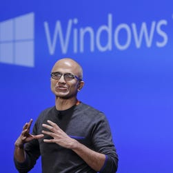 Microsoft CEO Satya Nadella is expected to announced a new slate of Lumia smartphones running Windows 10 at Tuesday's Microsoft hardware event in New York.