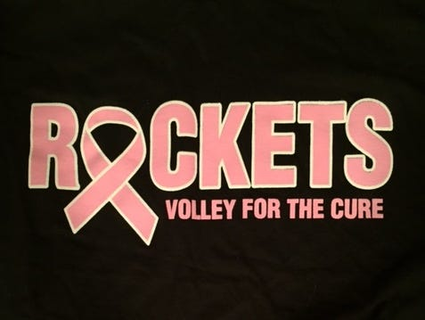 "Reynolds will hold its ""Volley for a Cure"" volleyball match on Monday night."