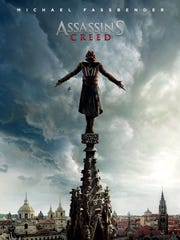 "The movie poster for ""Assassin's Creed."""