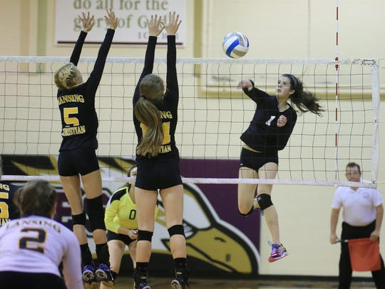 Slamming home another point for PCA is Olivia Mady