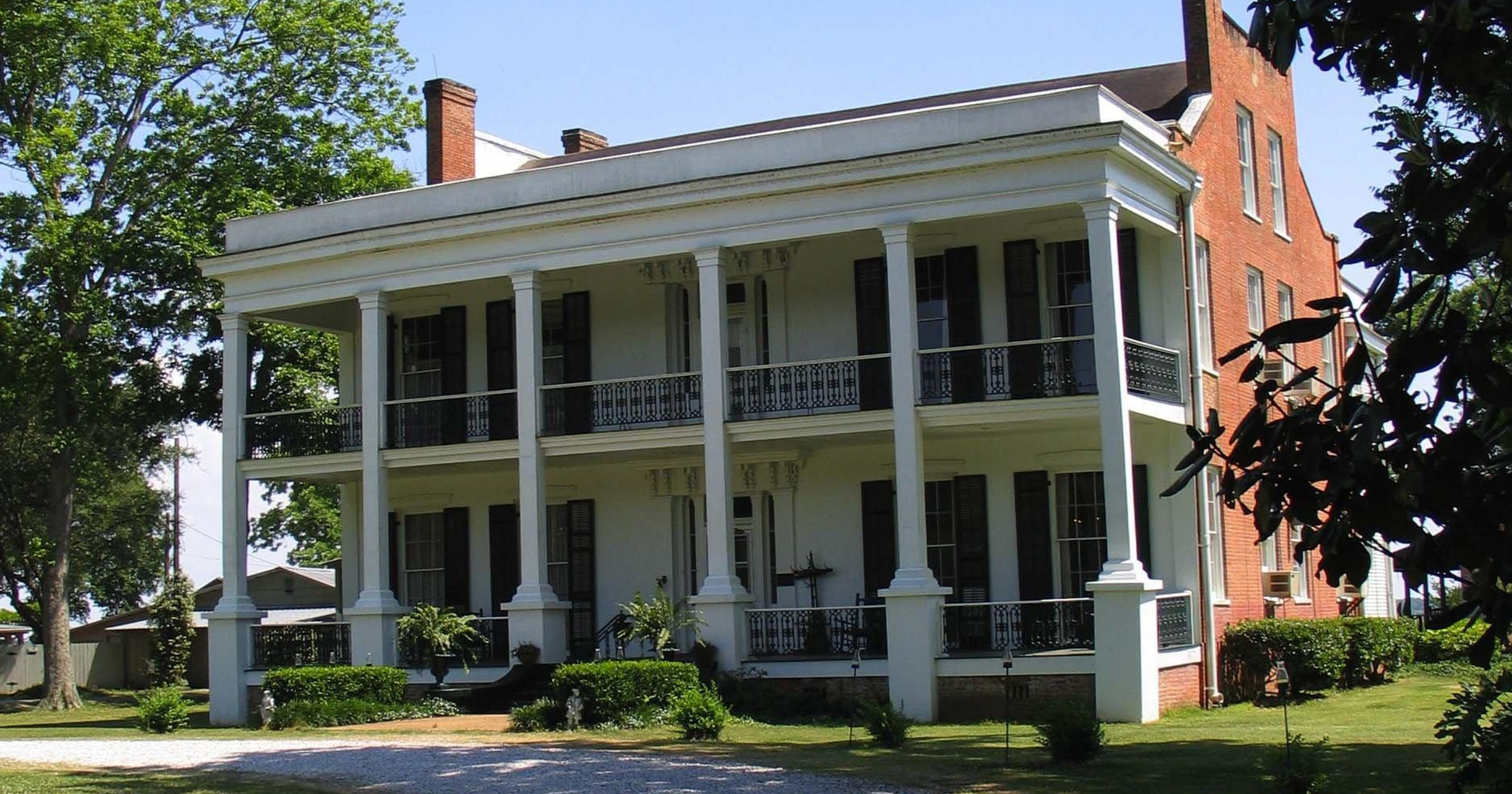 Historic, haunted plantation home for sale
