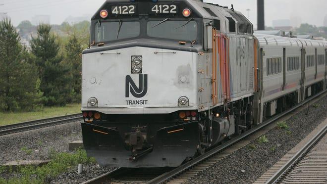 A NJ Transit train.