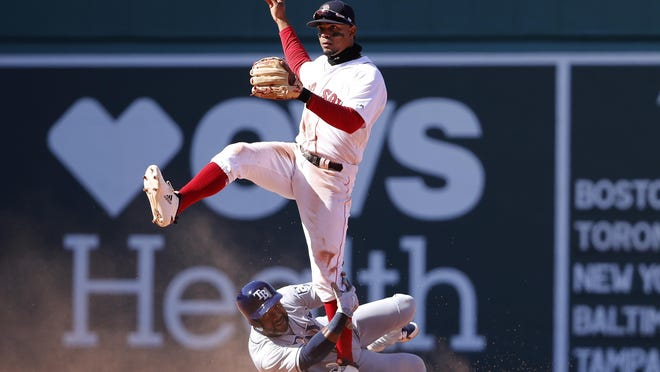 Xander Bogaerts feels like the man at the center of the Red Sox clubhouse.