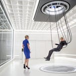 "Kate Winslet plays a controlling, ruthless leader in ""The Divergent Series: Insurgent."""