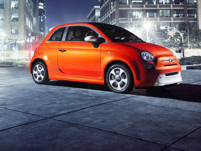 The battery-electric Fiat 500e brings Italian flavor to the electric vehicle market