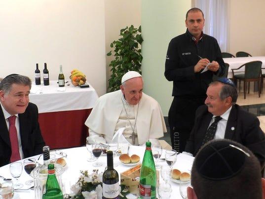 AP Vatican Pope Kosher Kitchen