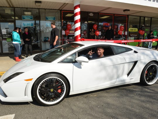 "Reality television star Mike ""The Situation"" Sorrentino showed up at the grand opening of his Middletown tanning salon, Boca Tanning Club, in March 2014, driving a Lamborghini."