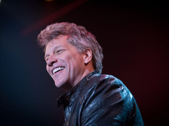 Jon Bon Jovi at Bobby Bandiera's  Hope Concert at the Count Basie Theatre in Red Bank, NJ, on Wednesday, December 23, 2015.