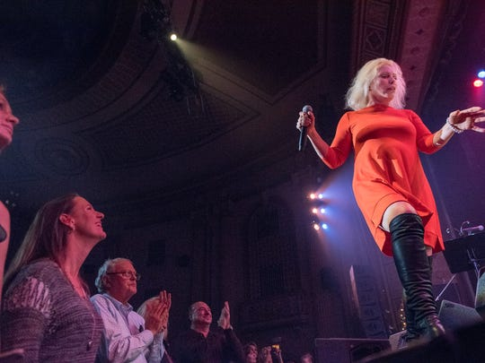 Deborah Harry  at Bobby Bandiera's  Hope Concert at the Count Basie Theatre in Red Bank, NJ, on Wednesday, December 23, 2015.