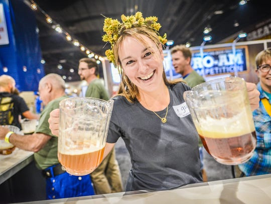 The Great American Beer Festival in Denver took home