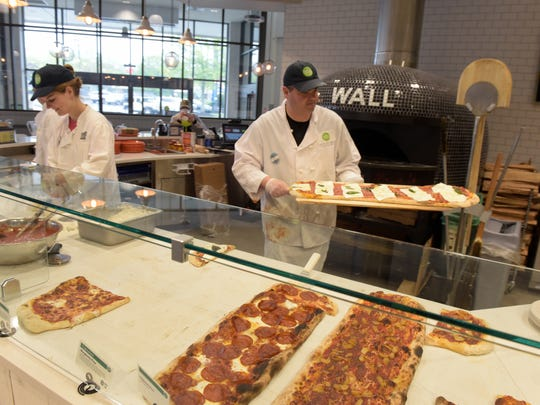 Whole Foods opened a new location in Wall, where it
