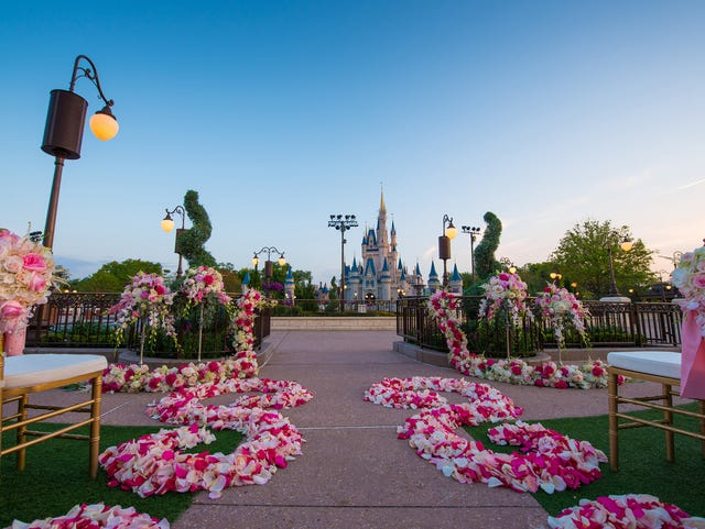 Want a Disney wedding? It'll cost you