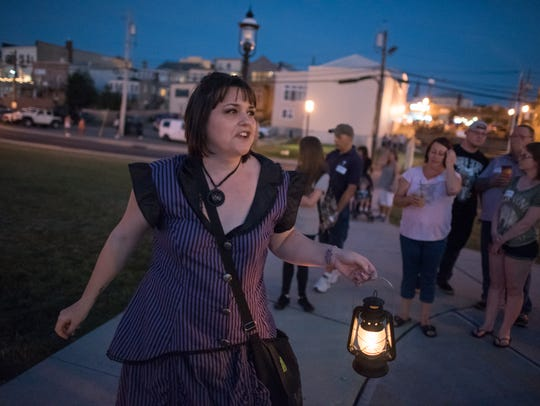 Jersey Shore Ghost tours leads regular haunted tour