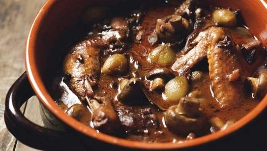 Shoveling is no fun. But cooking is! Make coq au vin.