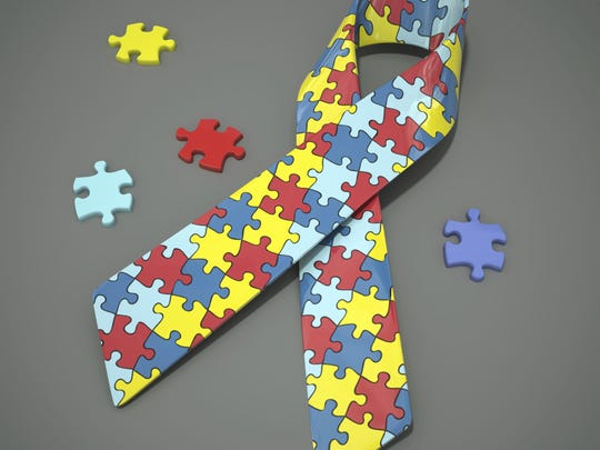Getty Images/iStockphoto Autism awareness ribbon