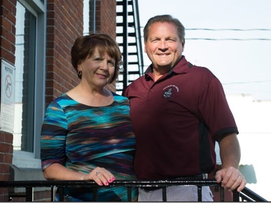 Kim Harsanje, Genoa Sesquicentennial chairwoman, and her husband, Mayor Ken Harsanje, have put months of work into the event, which will take place on June 1 and 2.