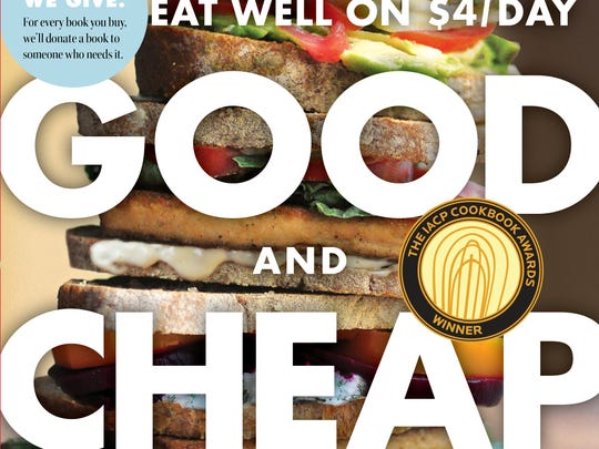 """The """"Good and Cheap"""" cookbook by Leanne Brown."""