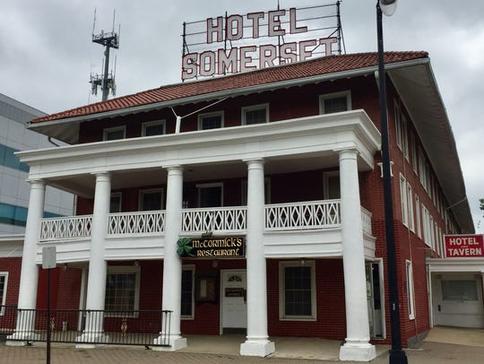 McCormick's Pub is located inside the Somerset Hotel.